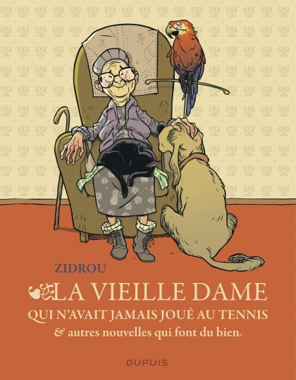 The old woman who'd never played tennis, and other heartwarming short stories - La vieille dame qui n'avait jamais joué au tennis et autres nouvelles qui font du bien