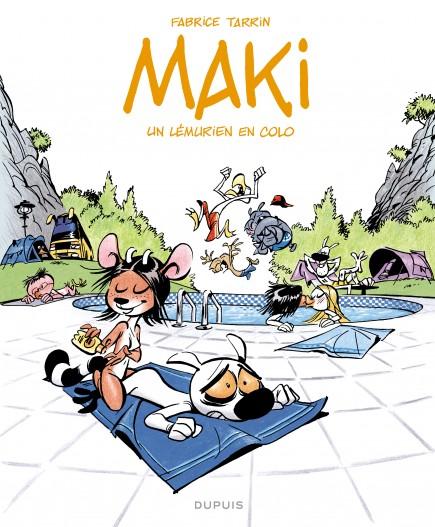 Maki - Un lémurien en colo