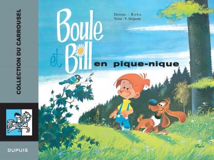 Carrousel - Boule et Bill en pique-nique