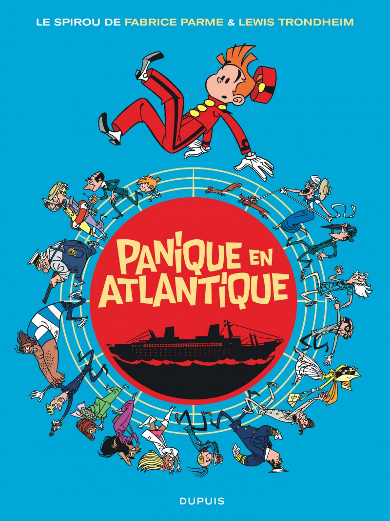 Spirou by...  - Panique en Atlantique