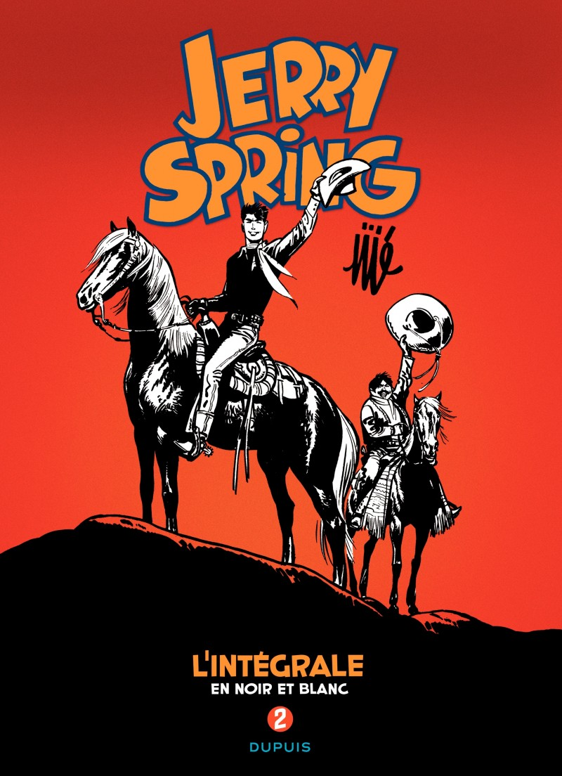 Jerry Spring - L'Intégrale - tome 2 - Jerry Spring - L'intégrale - Tome 2