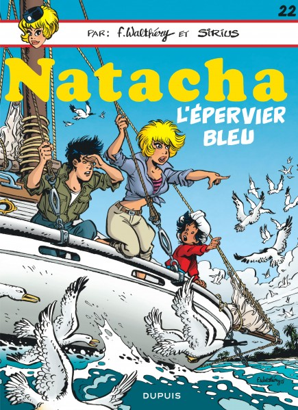 Natacha - L'Epervier bleu