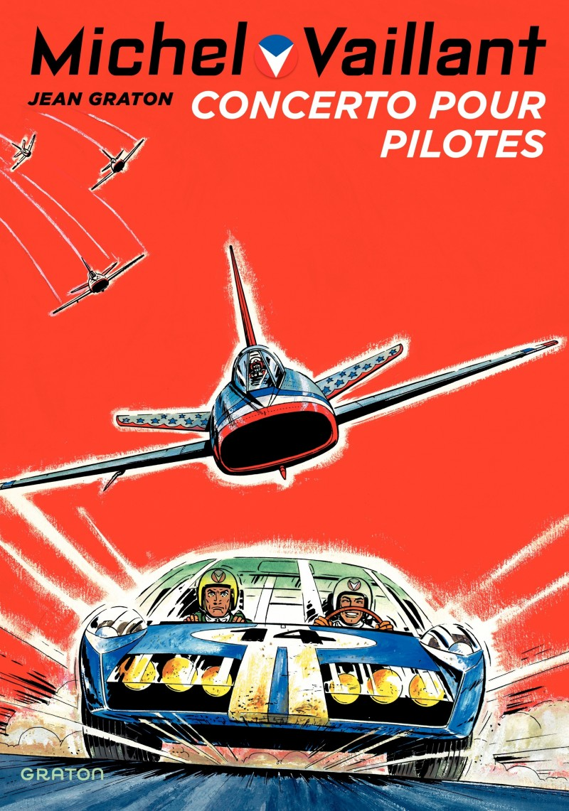 Michel Vaillant - tome 13 - Concerto pour pilotes