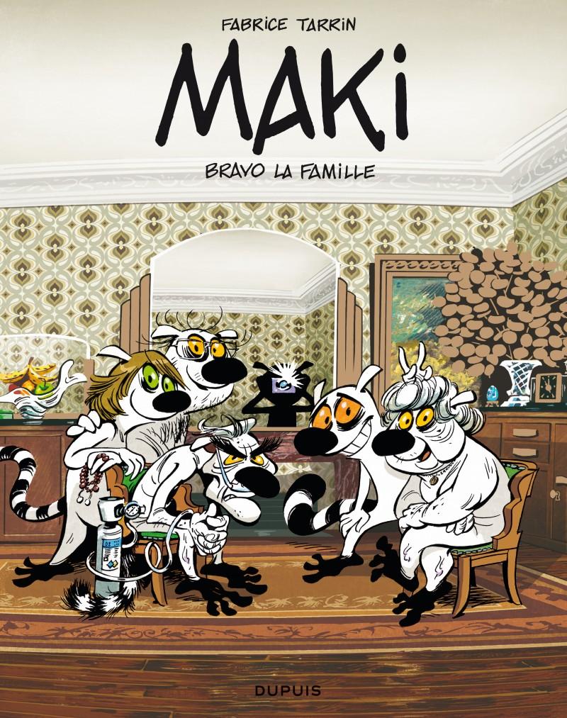 Maki - tome 2 - Bravo la famille