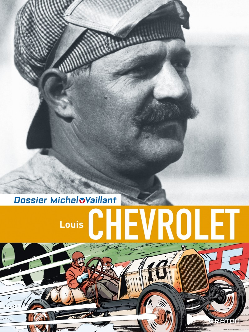 Michel Vaillant - Dossiers - tome 11 - Chevrolet