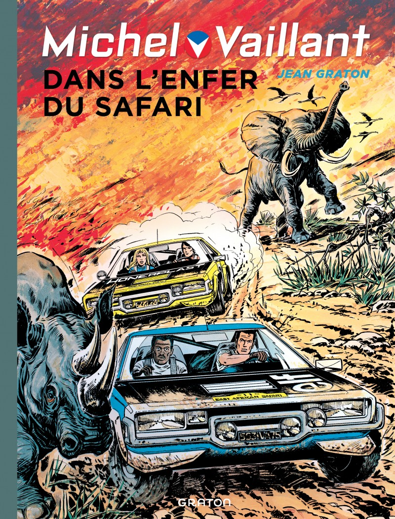 Michel Vaillant - tome 27 - Dans l'enfer du safari