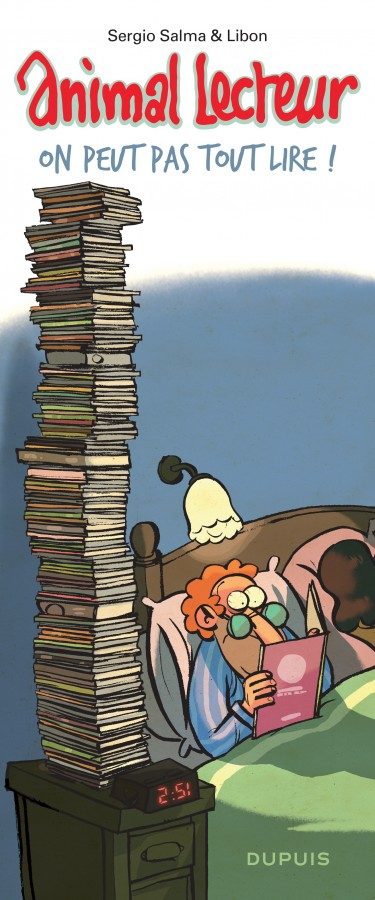 Animal lecteur (Animal Lecteur) - On peut pas tout lire !