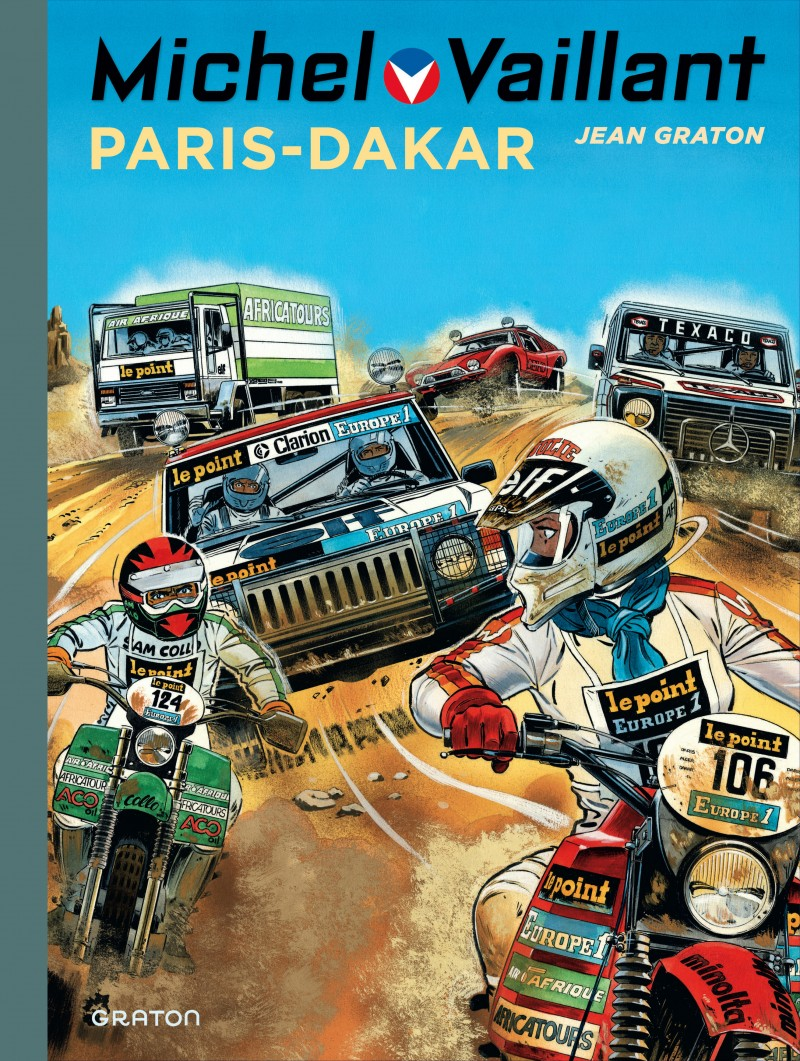 Michel Vaillant - tome 41 - Paris - Dakar