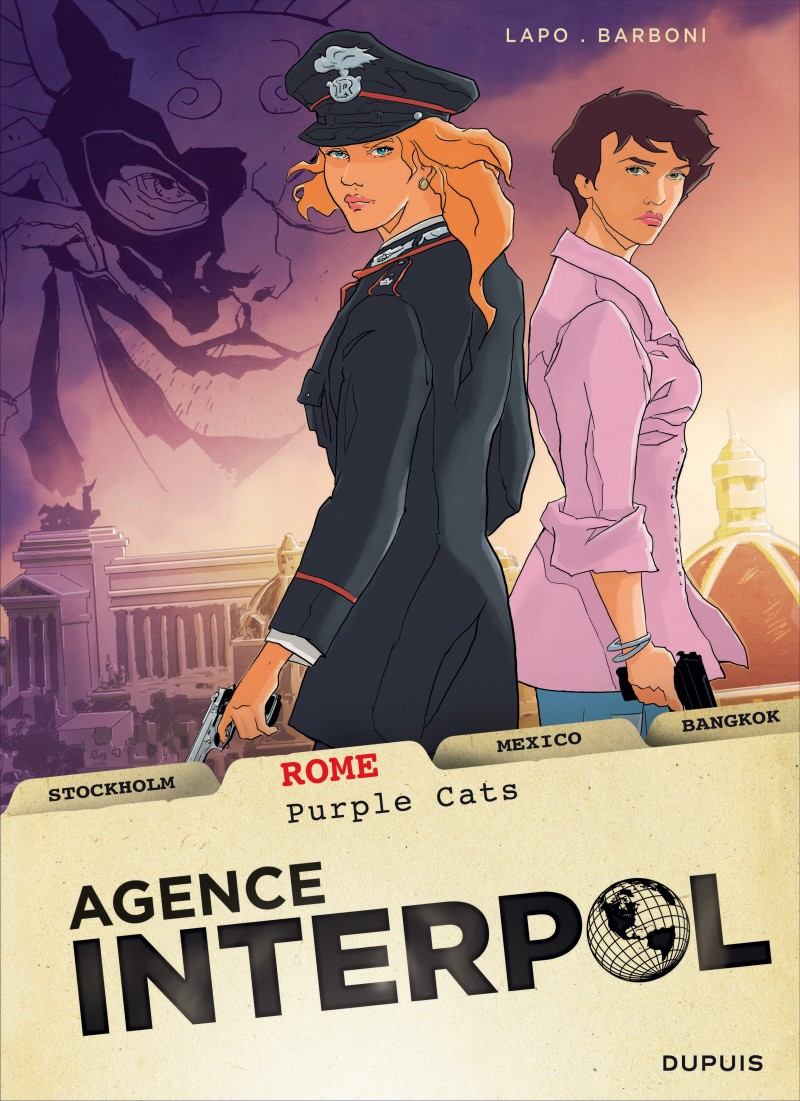 Agence Interpol - tome 3 - Rome
