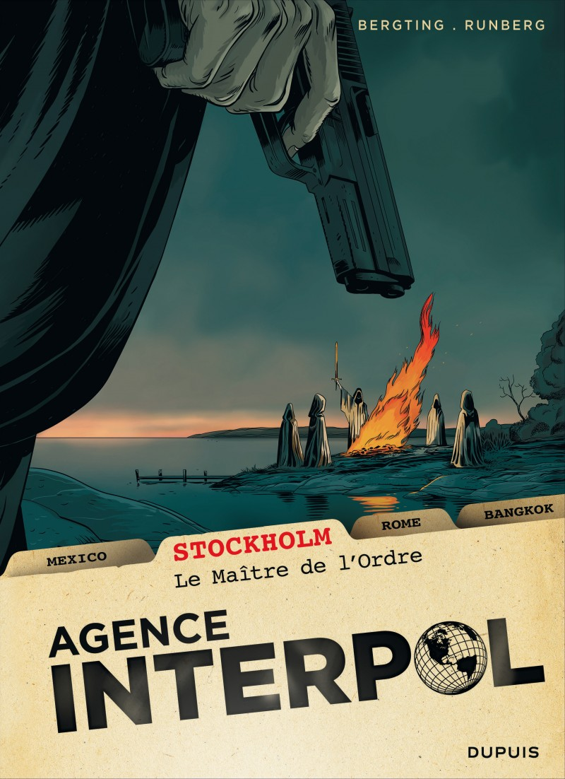 Agence Interpol - tome 2 - Stockholm