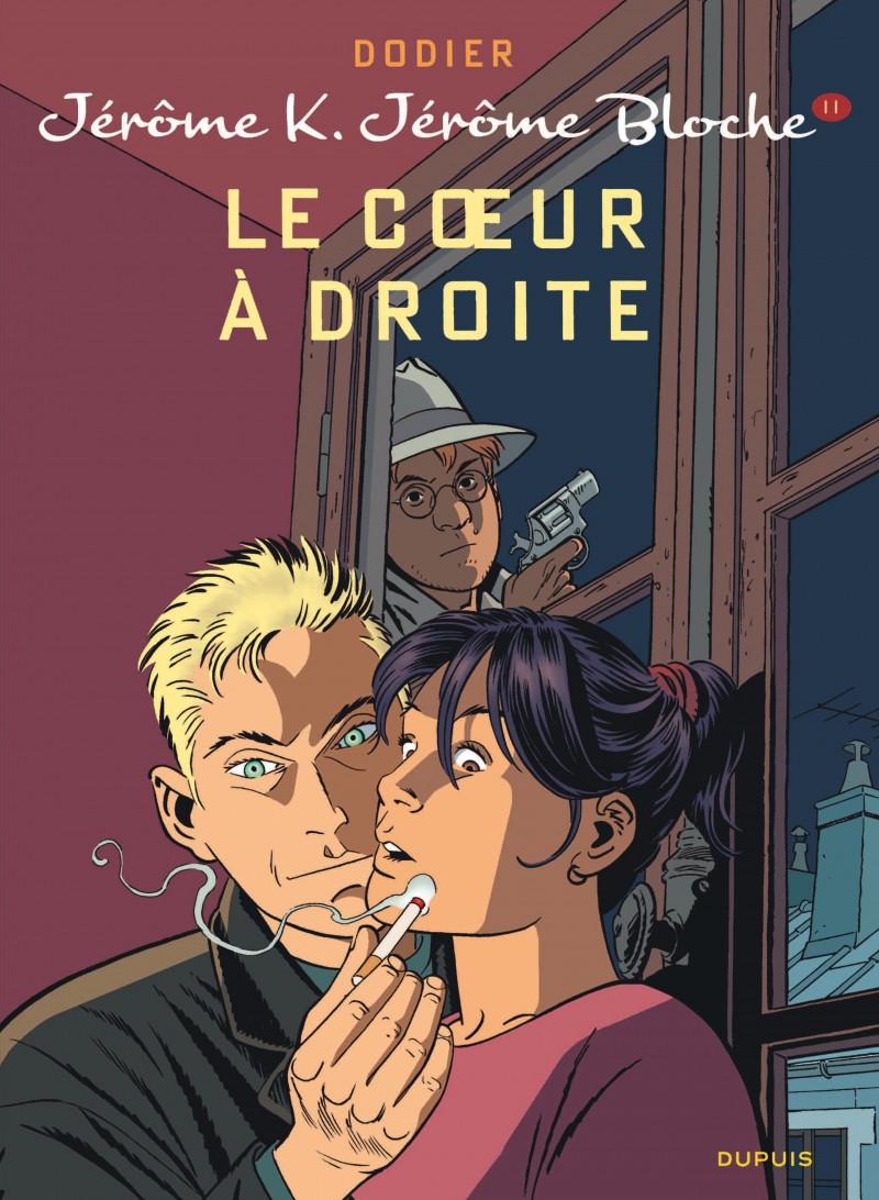 Jérôme K. Jérôme Bloche - tome 11 - Le Coeur à droite