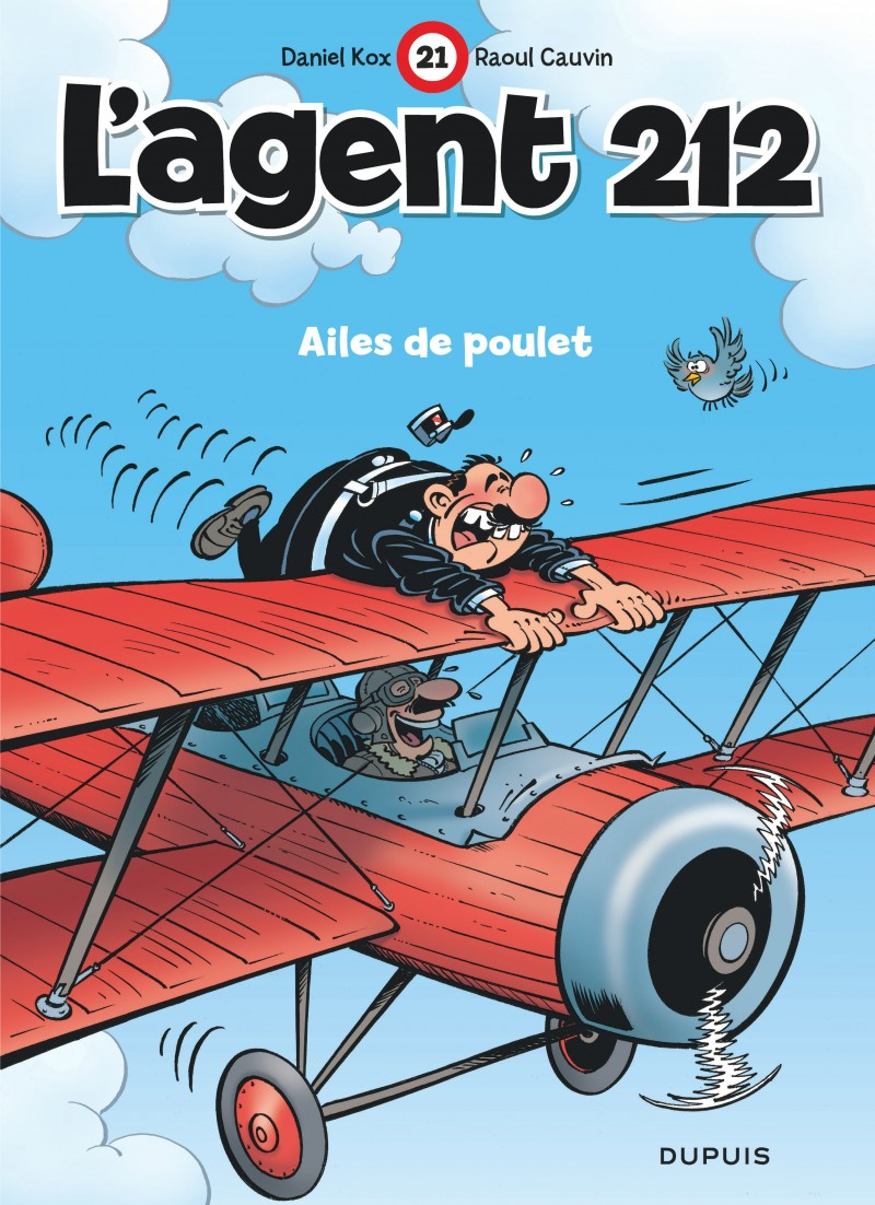 L'agent 212 - tome 21 - Ailes de poulet