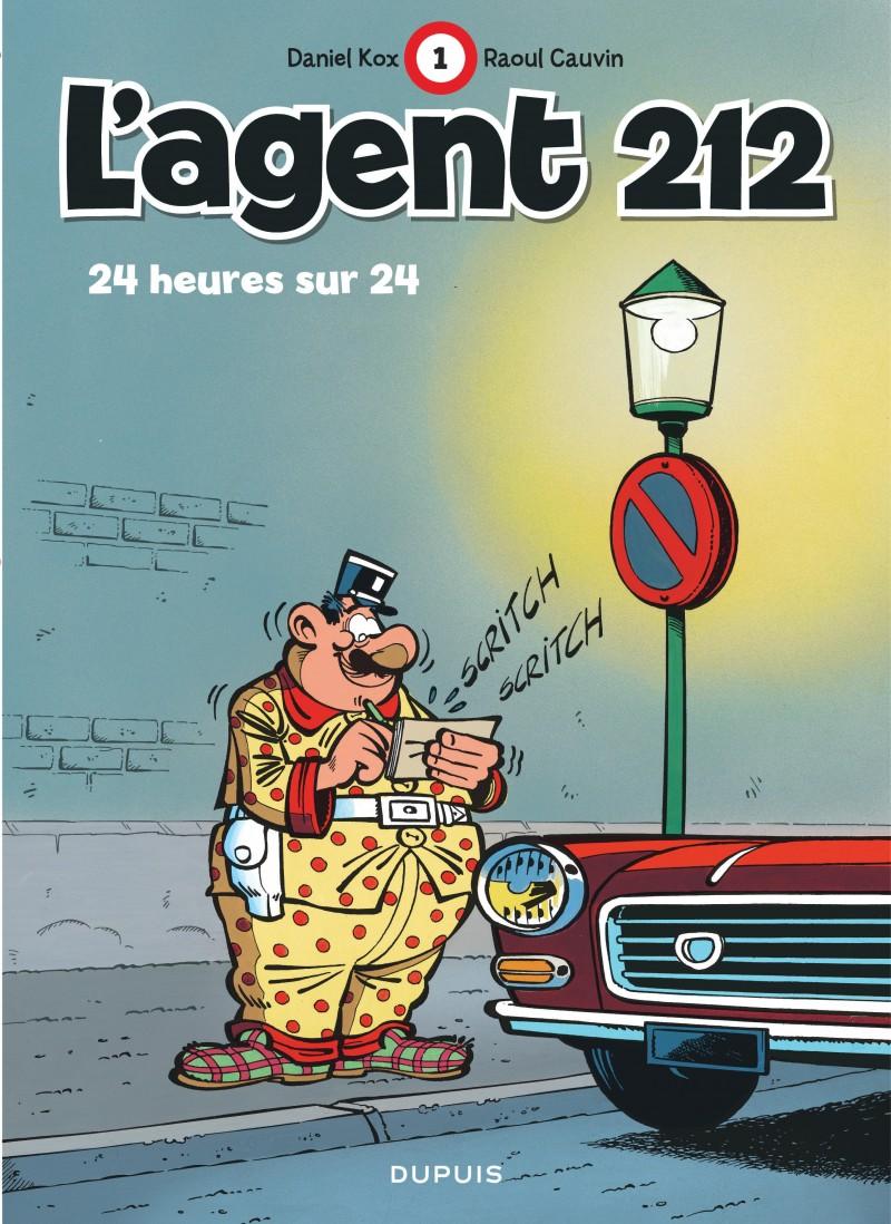 L'agent 212 - tome 1 - 24 heures sur 24