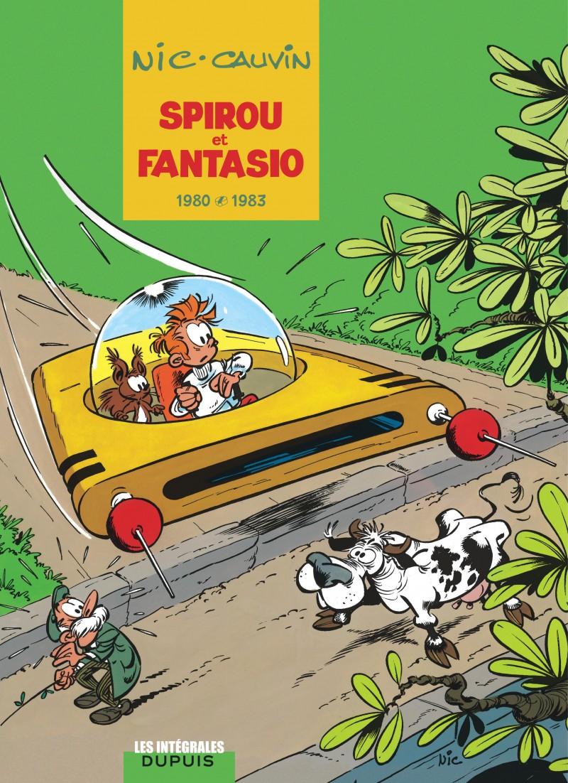 Spirou et Fantasio - L'intégrale - tome 12 - 1980-1983
