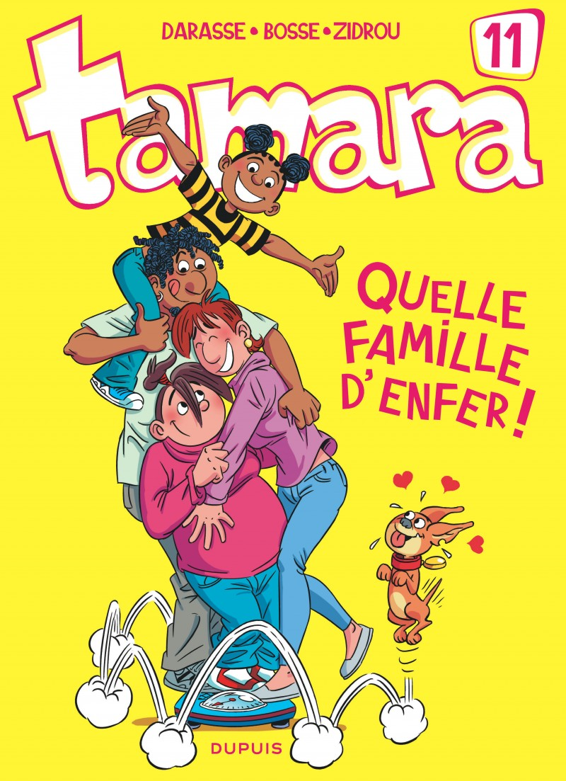Tamara - tome 11 - Quelle famille d'enfer !