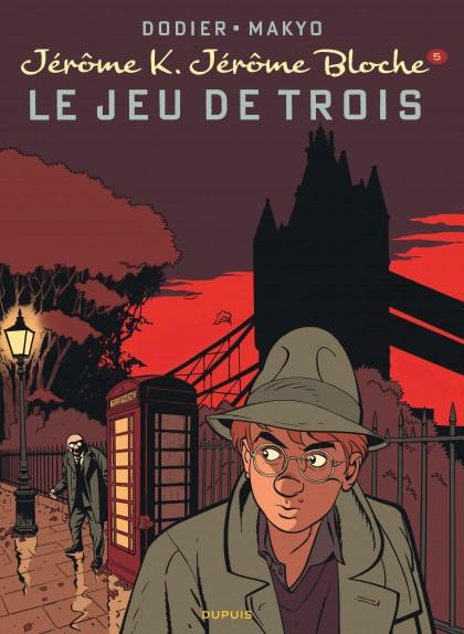 Jérôme K. Jérôme Bloche - Le Jeu de trois