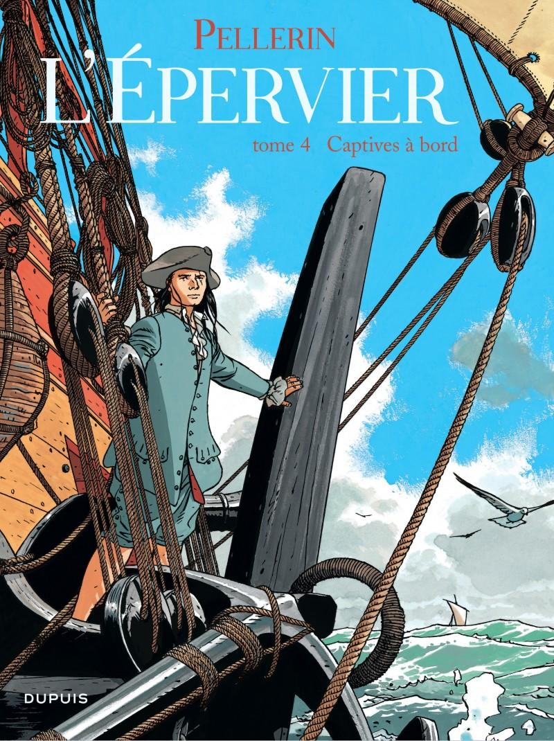Epervier (L') - tome 4 - Captives à bord