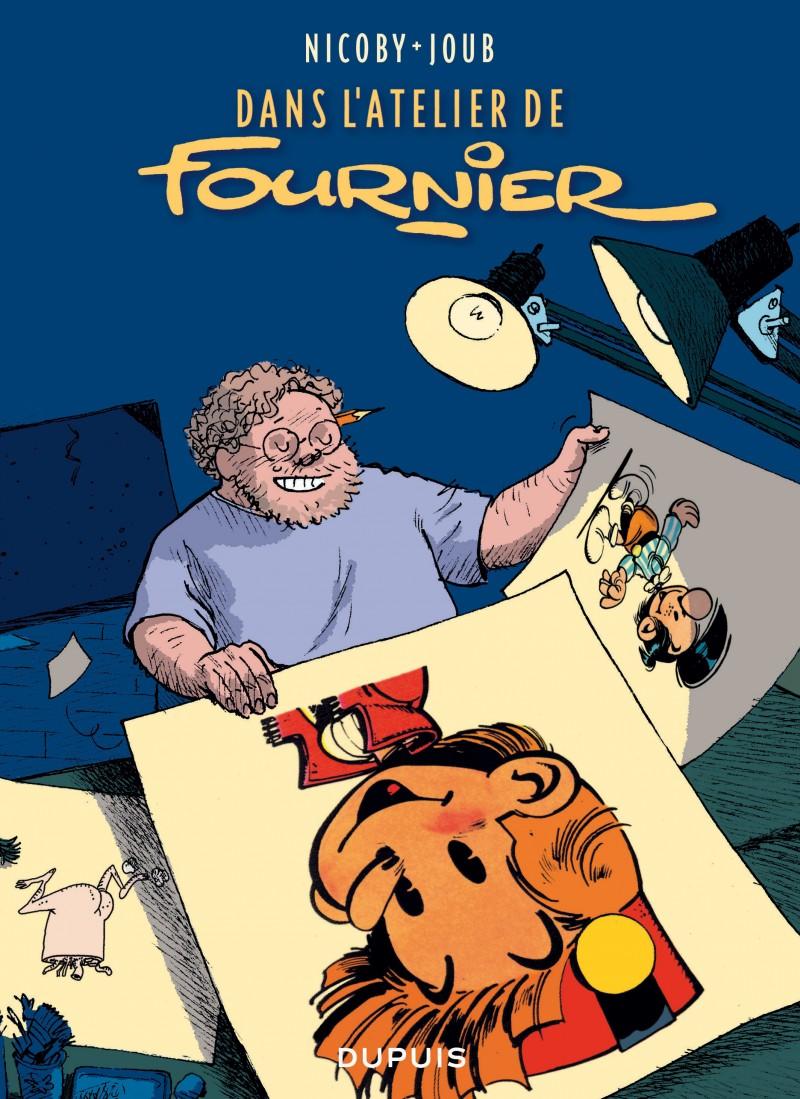 Inside Fournier's Studio - Dans l'atelier de Fournier