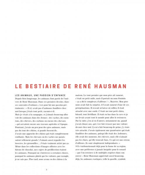 Le bestiaire d'Hausman L'intégrale