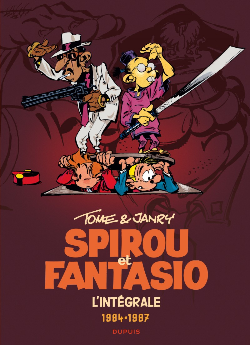 Spirou et Fantasio - Compilation - tome 14 - Tome & Janry 1984-1987