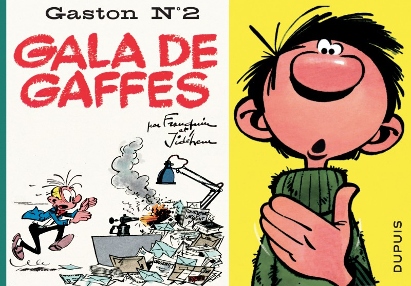 Gaston à l'italienne - tome 2 - Gala de gaffes