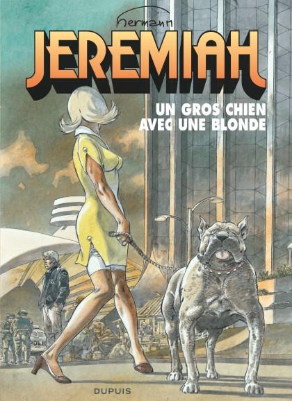 Jeremiah - Un gros chien avec une blonde
