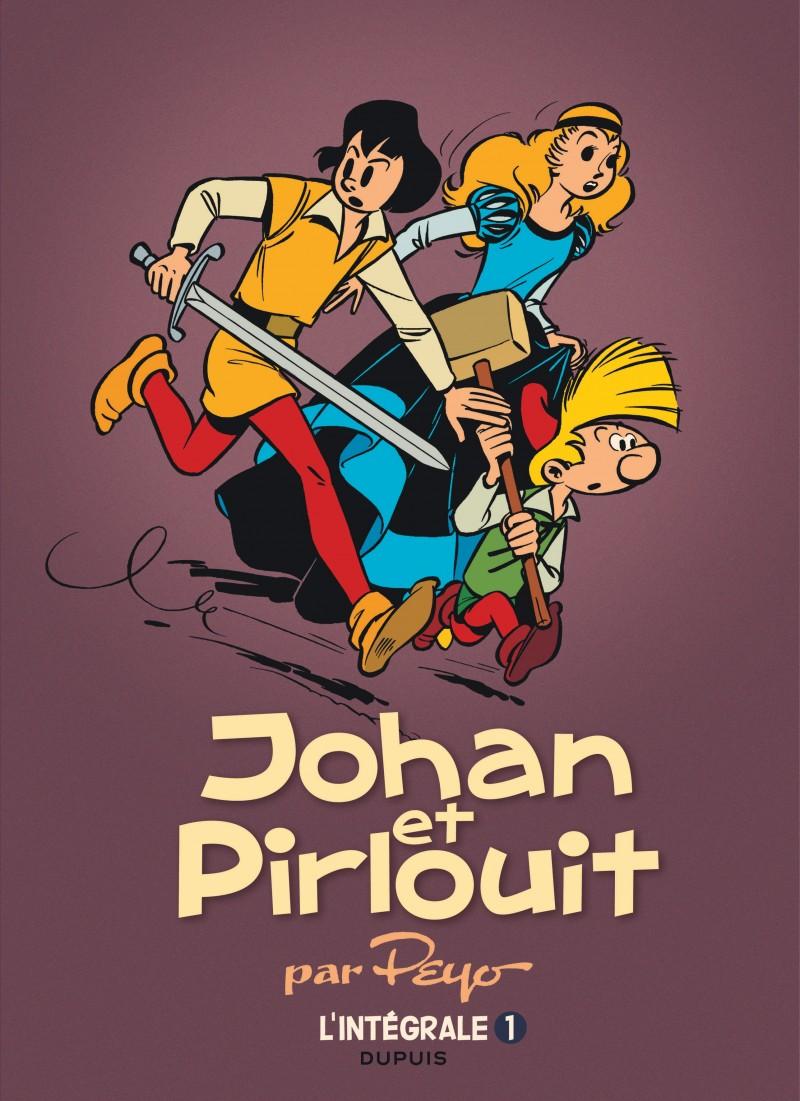 Johan et Pirlouit - L'Intégrale - tome 1 - Johan et Pirlouit, L'Intégrale tome 1 (1952-1954)