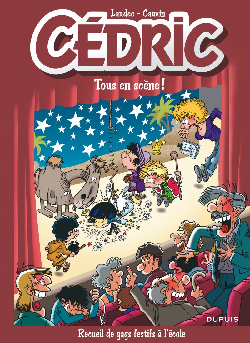 Cédric Best Of - tome 7 - Tous en scène !
