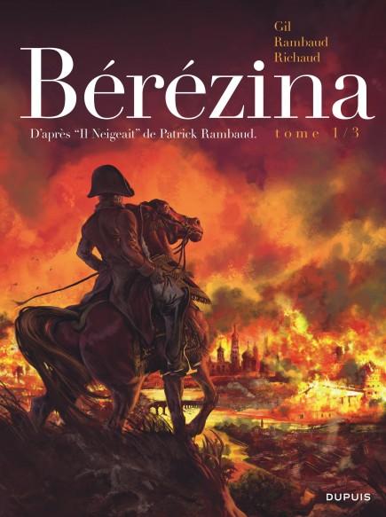 Bérézina - L'incendie