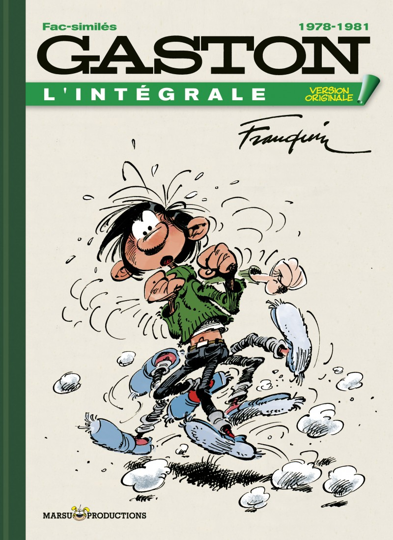 Version Originale - tome 20 - Gaston VO 1978-1981