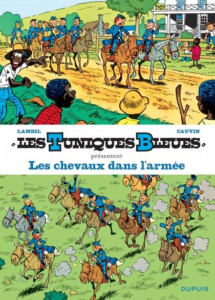 Les Tuniques Bleues présentent - Les chevaux dans l'armée