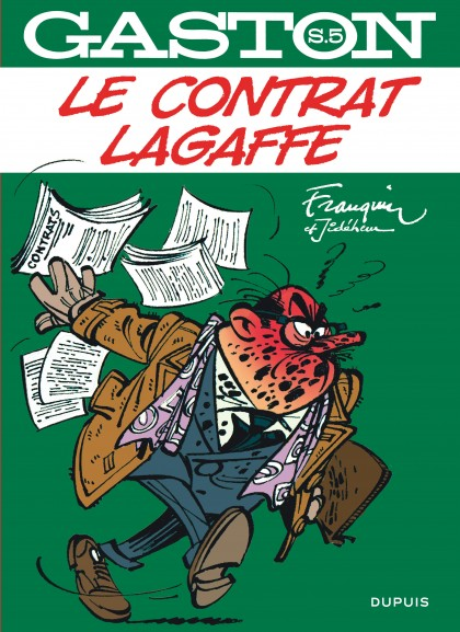 Gaston hors-série - Le contrat Lagaffe