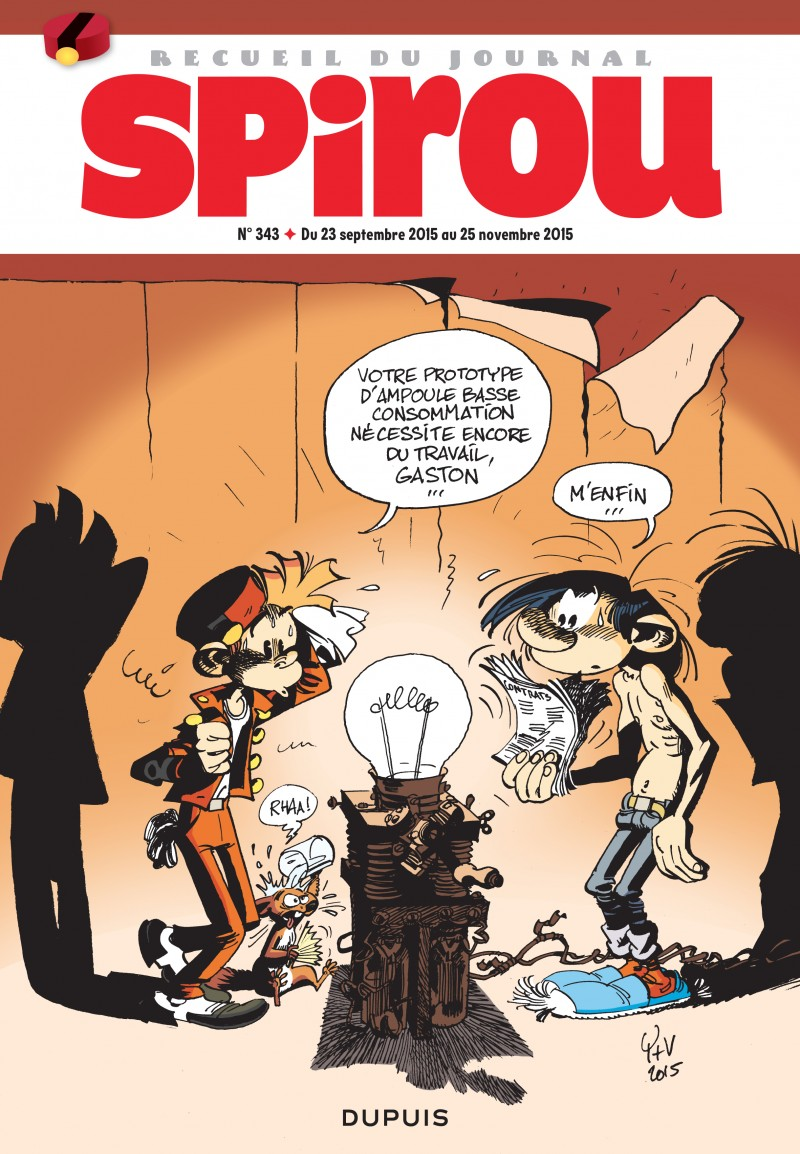 Recueil Spirou - tome 343 - Recueil Spirou 343