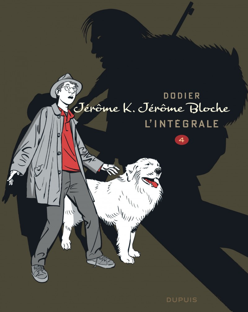 Jérôme K. Jérôme Bloche - L'intégrale n/b - tome 4 - Jérôme K. Jérôme Bloche - L'intégrale n/b, tome 4