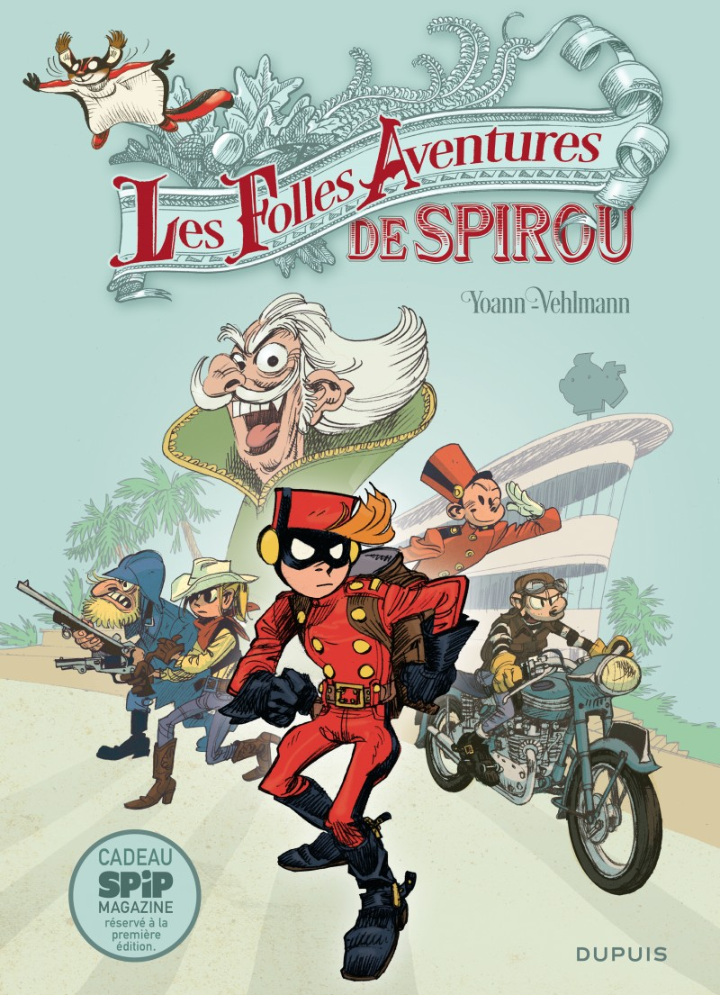 Spirou and Fantasio - Special Edition - tome 5 - Les Folles Aventures de Spirou