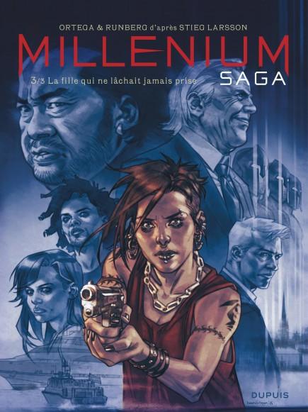 Millénium saga - La fille qui ne lâchait jamais prise