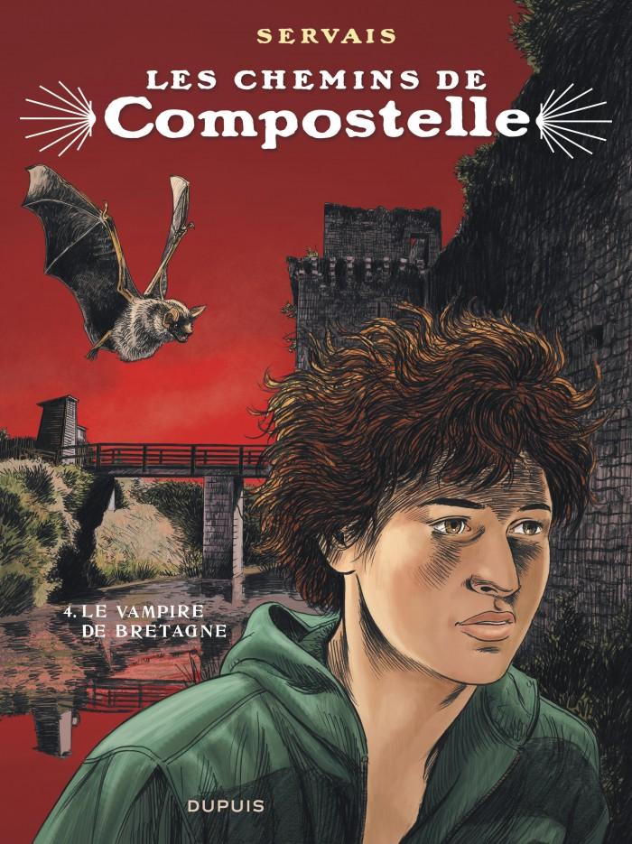 Le vampire de Bretagne, tome 4 de la série de BD Les chemins de Compostelle,  de Servais - - Éditions Dupuis
