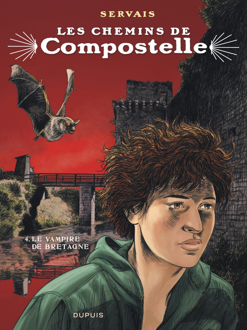 Saint James' Way - tome 4 - Le vampire de Bretagne