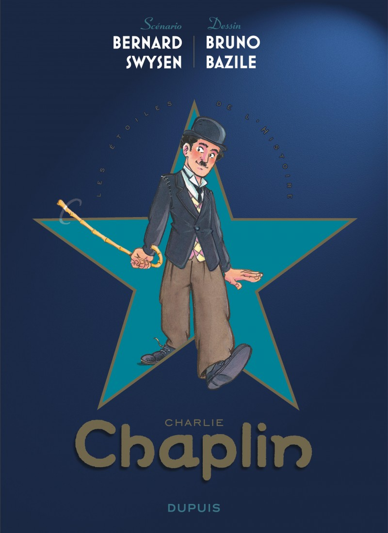 The Stars of History - tome 1 - Charlie Chaplin