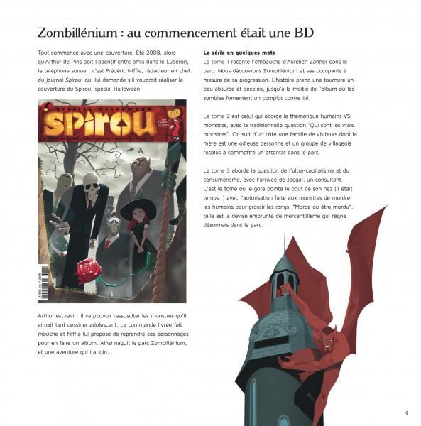 Zombillénium Artbook