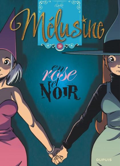 Mélusine - En rose et noir