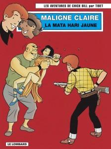 cover-comics-chick-bill-tome-67-maligne-claire-la-mata-hari-jaune