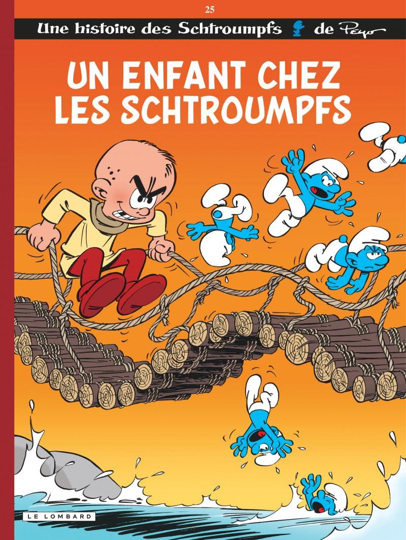 Les Schtroumpfs - tome 25 - Un enfant chez les Schtroumpfs