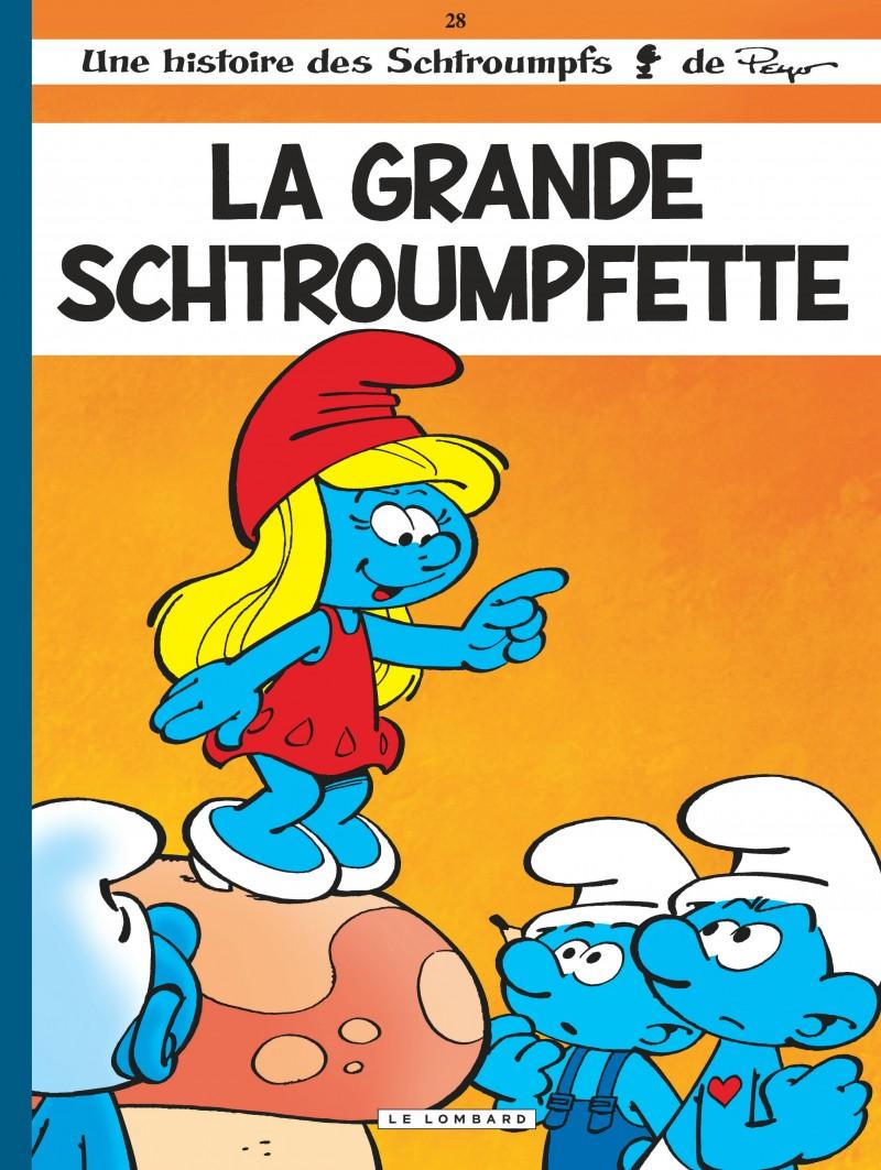 Les Schtroumpfs - tome 28 - La Grande Schtroumpfette