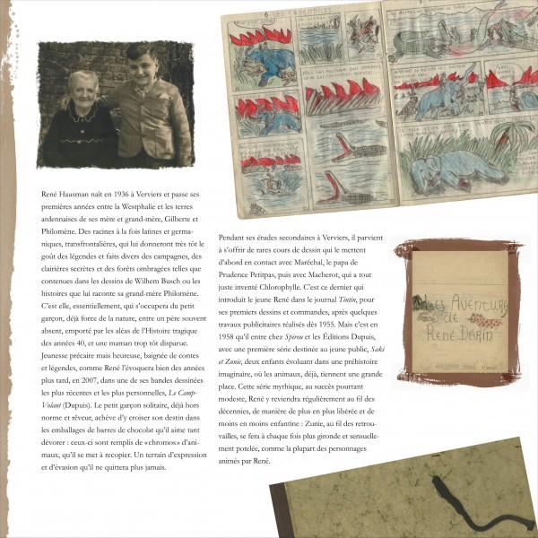 Monographie Hausman - Mémoires d'un pinceau