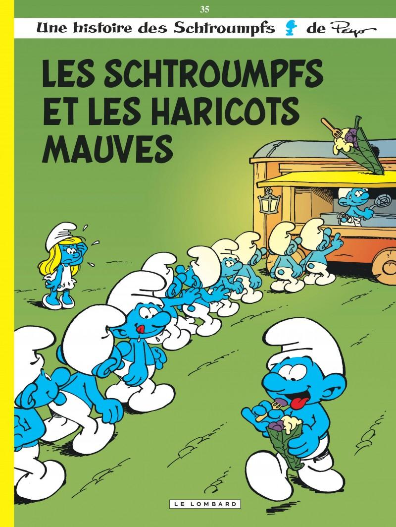 Les Schtroumpfs - tome 35 - Les Schtroumpfs et les haricots mauves