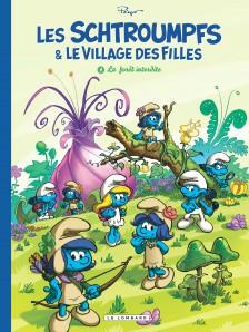 cover-comics-les-schtroumpfs-et-le-village-des-filles-tome-1-la-fort-interdite