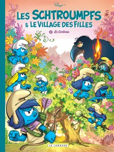 cover-comics-les-schtroumpfs-et-le-village-des-filles-tome-3-le-corbeau