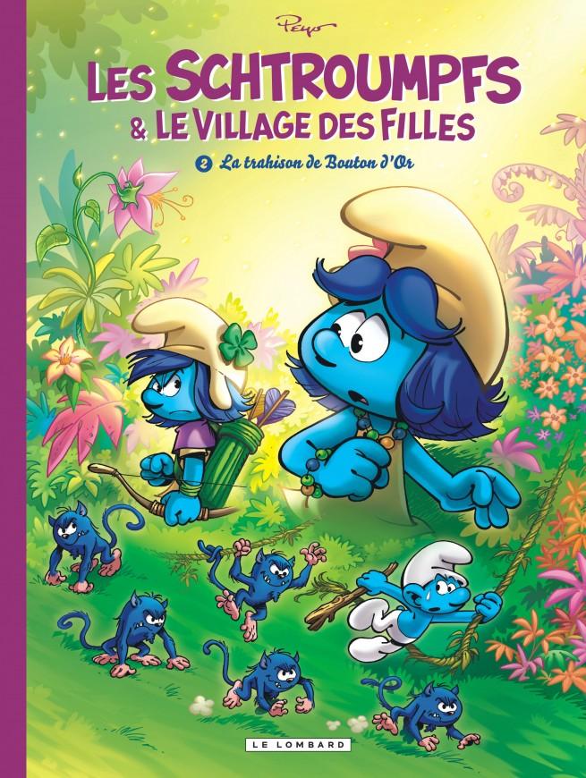 Les Schtroumpfs Et Le Village Des Filles Tome 2 La Trahison De
