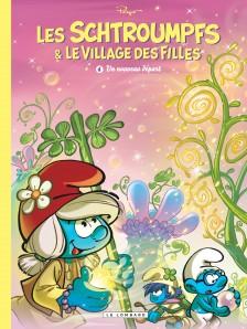 cover-comics-les-schtroumpfs-et-le-village-des-filles-tome-4-un-nouveau-dpart